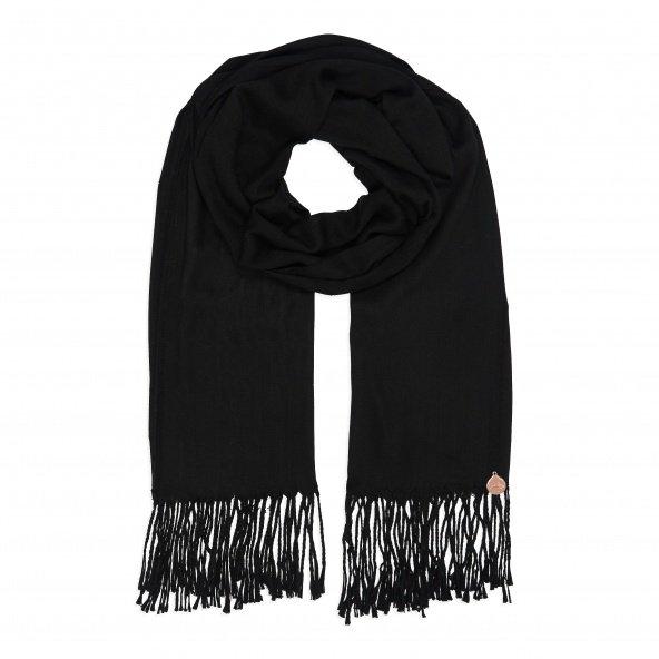 pashmina shawl black 2