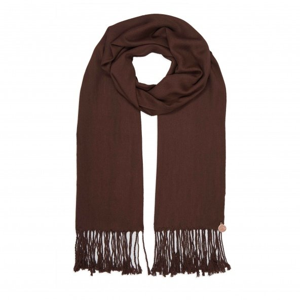 pashmina shawl brown 2