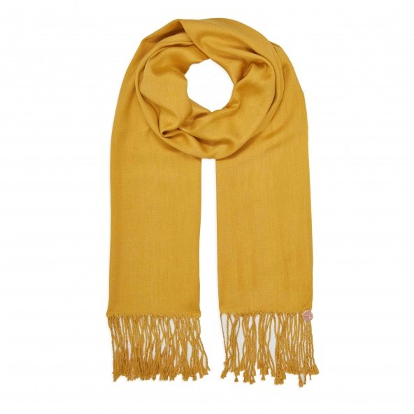 pashmina shawl dark yellow
