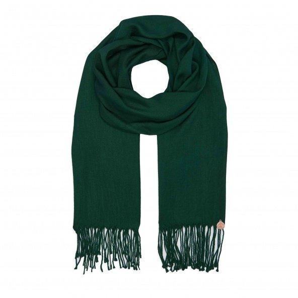 pashmina shawl forest green