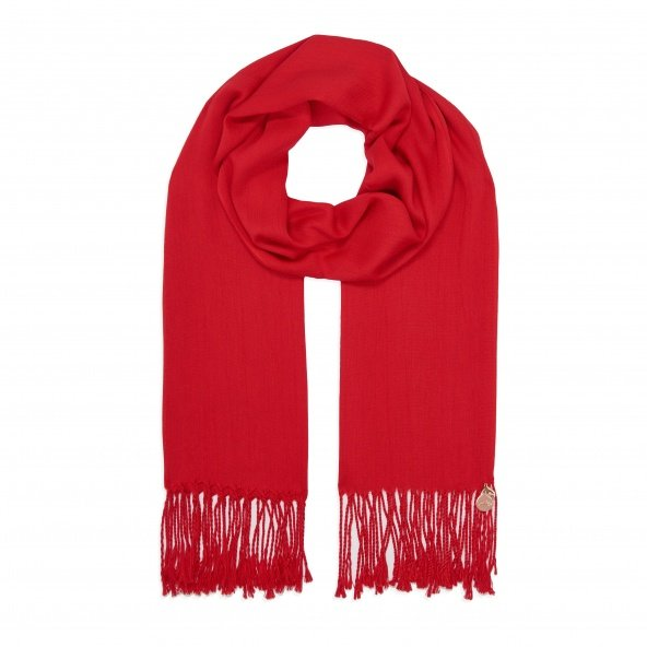 pashmina shawl red
