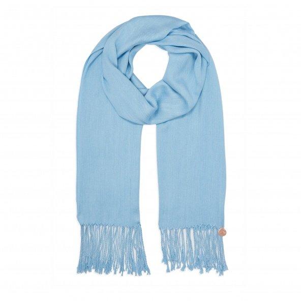 pashmina shawl sky blue